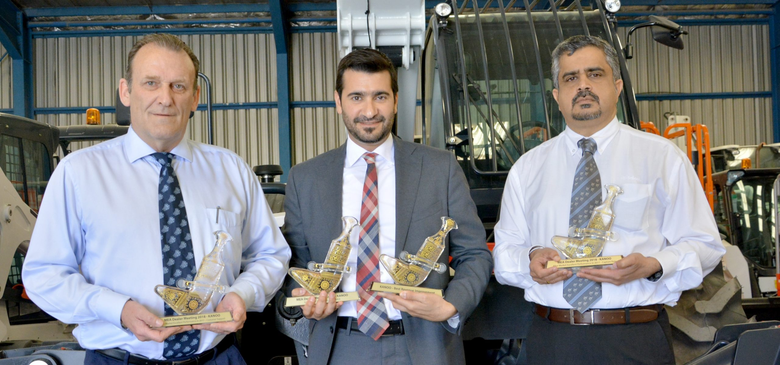 Kanoo Machinery Team With Bobcat Awards Copy 1