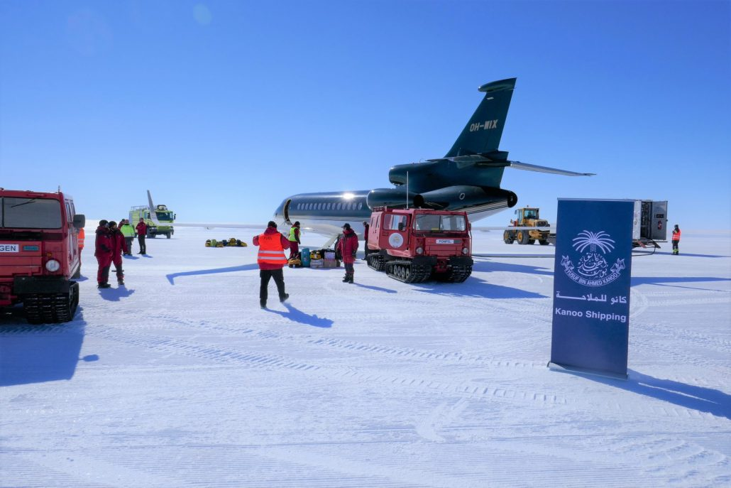 Kanoo Shipping Launches Operations in Antarctica