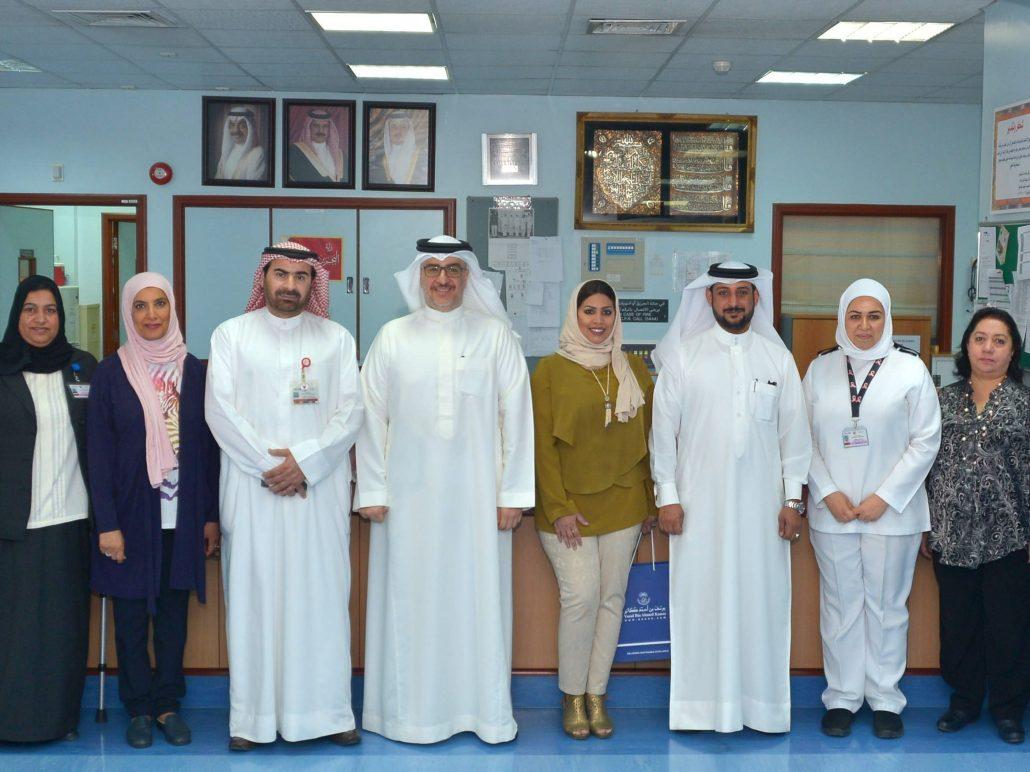 VISIT TO CANCER UNIT IN SMC BAHRAIN
