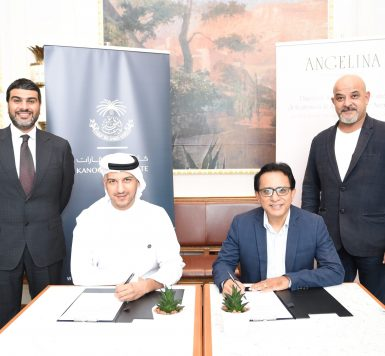 Kanoo Real Estate Signing With Angelina